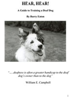 deaf dog training book